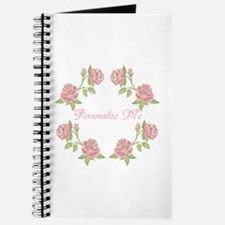 Personalized Rose Journal