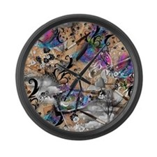 Artist and Writer Vintage Dreamy  Large Wall Clock