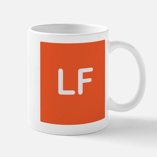 Life Fit Square Logo Mugs
