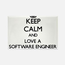 Keep Calm and Love a Software Engineer Magnets