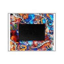Crazy Colorful Music Madness Mashup  Picture Frame