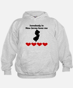 Somebody in New Jersey Loves Me Hoody