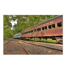 Classic Train Cars Postcards (Package of 8)
