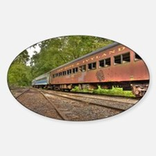 Classic Train Cars Decal