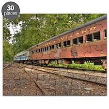 Classic Train Cars Puzzle