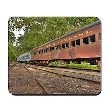 Classic Train Cars Mousepad