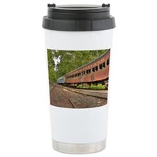 Classic Train Cars Travel Mug