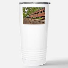Classic Train Cars Travel Mug