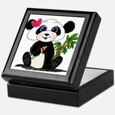 Panda Baby Girl Keepsake Box