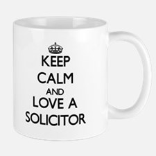 Keep Calm and Love a Solicitor Mugs