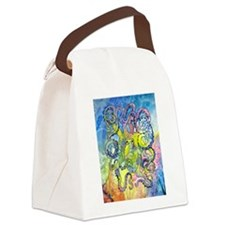 Wild Octopus Canvas Lunch Bag