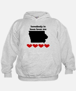 Somebody in Iowa Loves Me Hoody