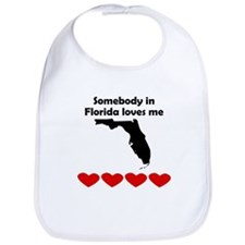 Somebody in Florida Loves Me Bib