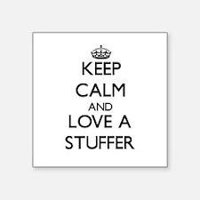 Keep Calm and Love a Stuffer Sticker