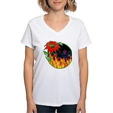 Charmed christmas flower T-Shirt