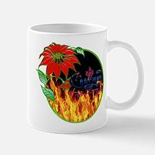 Charmed christmas flower Mugs