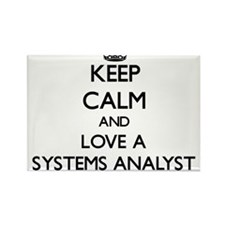 Keep Calm and Love a Systems Analyst Magnets