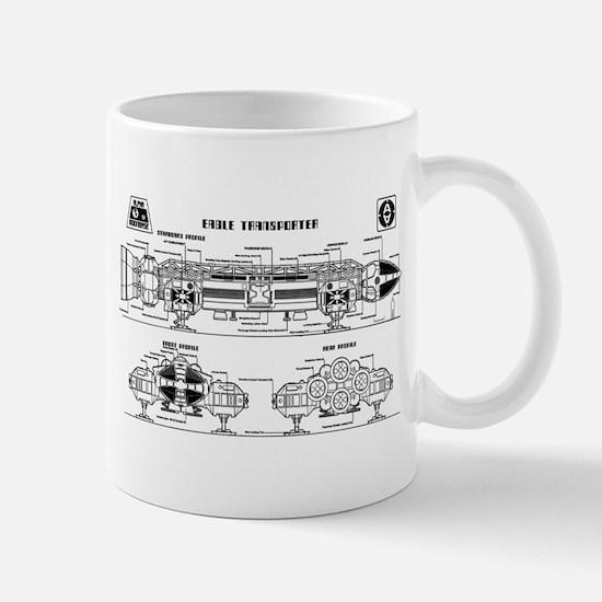 Space: 1999 - Eagle Transporter Mug