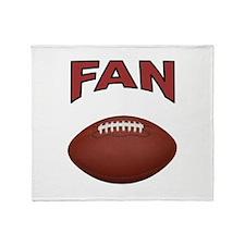 FOOTBALL FAN Throw Blanket