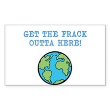 FRACK Bumper Stickers