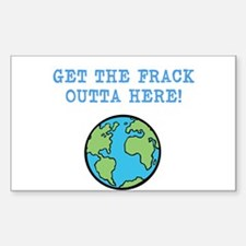 FRACK Bumper Stickers