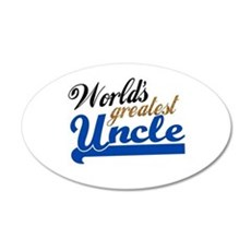 Worlds Greatest Uncle Wall Sticker