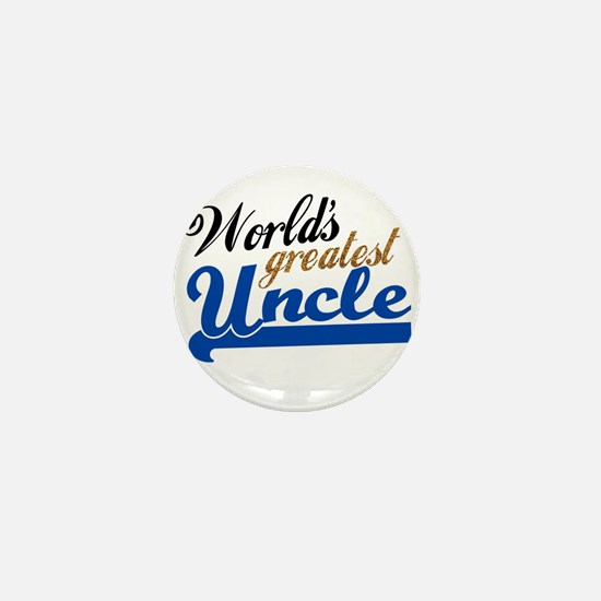 Worlds Greatest Uncle Mini Button