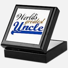 Worlds Greatest Uncle Keepsake Box