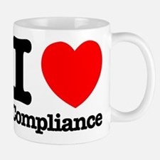 I Heart Compliance Small Mug