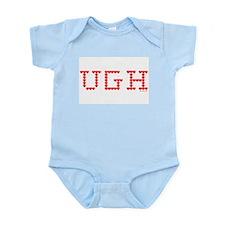 UGH Valentine Hearts Infant Bodysuit