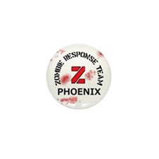 Zombie Response Team Phoenix Mini Button