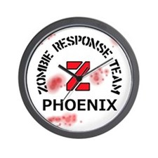 Zombie Response Team Phoenix Wall Clock