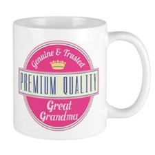 Premium Quality Great Grandma Small Mug