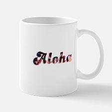 Pink Aloha Mugs