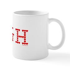 UGH Valentine Hearts Mug