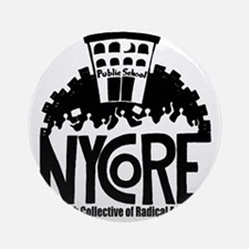 NYCoRE Main Logo Round Ornament