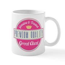 Premium Quality Great Aunt Mug