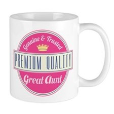 Premium Quality Great Aunt Small Mug