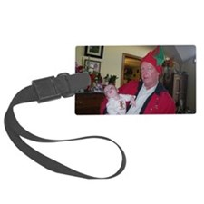 Santa's Elf and the newest elf Luggage Tag