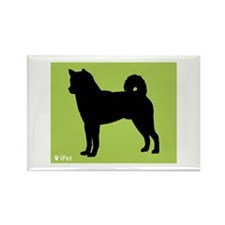 Shiba Inu iPet Rectangle Magnet (10 pack)