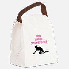 New Body Under Construction Canvas Lunch Bag