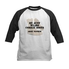 Army Nephew Aunt wears DCB Baseball Jersey