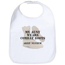 Army Nephew Aunt wears DCB Bib