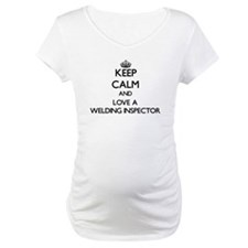 Keep Calm and Love a Welding Inspector Shirt