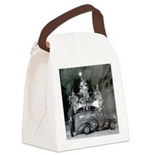 One of  the Original Roving Xmas  Canvas Lunch Bag