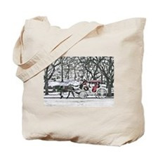Horse Drawn Carriage in NYC Tote Bag