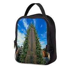 Empire State Building Christmas Tree Neoprene Lunc