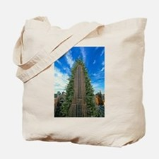 Empire State Building Christmas Tree Tote Bag