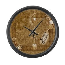 Steam Punk'd - Home Collection Large Wall Clock