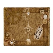 Steam Punk'd - Home Collection Throw Blanket